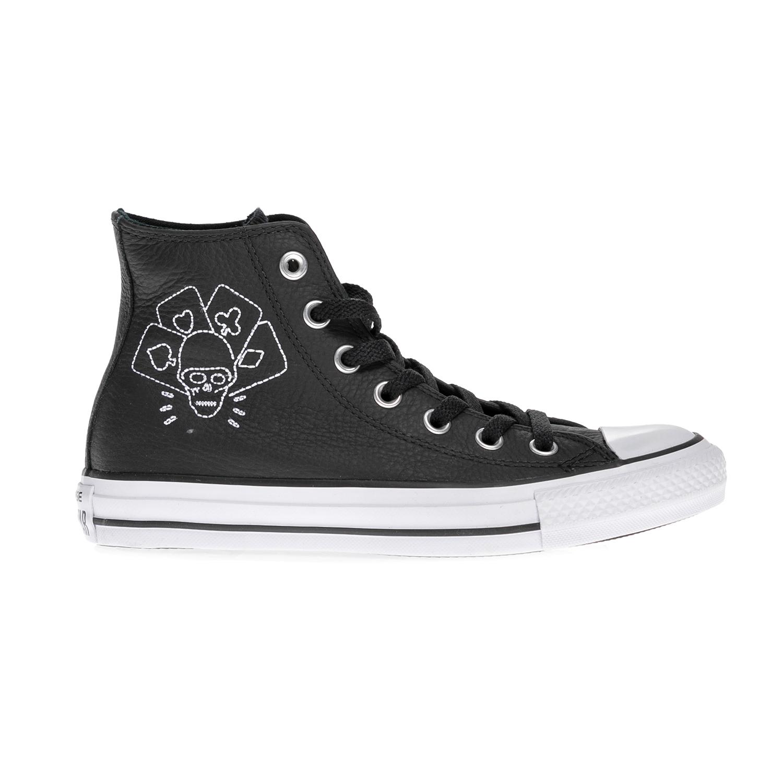 CONVERSE – Αντρικά μποτάκια QS Clash CTAS Embroidered μαύρα