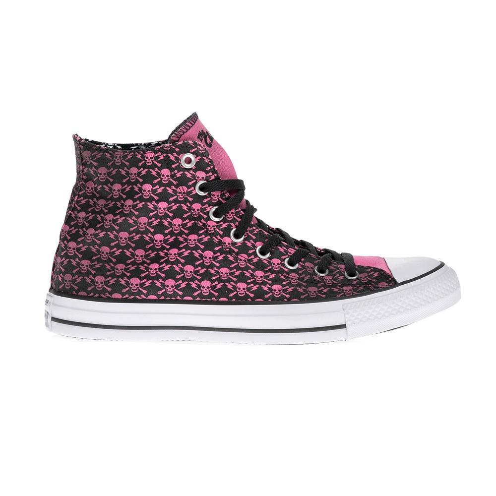 CONVERSE – Αντρικά παπούτσια QS Clash CTAS Print ροζ-μαύρα