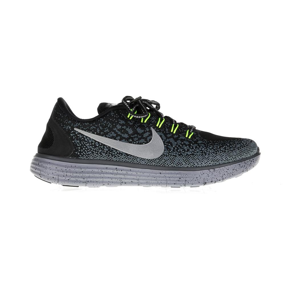 NIKE - Γυναικεία αθλητικά παπούτσια NIKE FREE RN DISTANCE SHIELD ΥΠΟΔΗΜΑ μαύρα γυναικεία παπούτσια αθλητικά running
