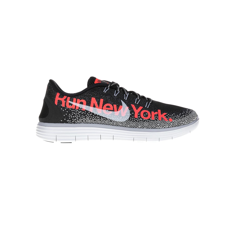 NIKE - Γυναικεία παπούτσια NIKE FREE RN DISTANCE μαύρα γυναικεία παπούτσια αθλητικά running