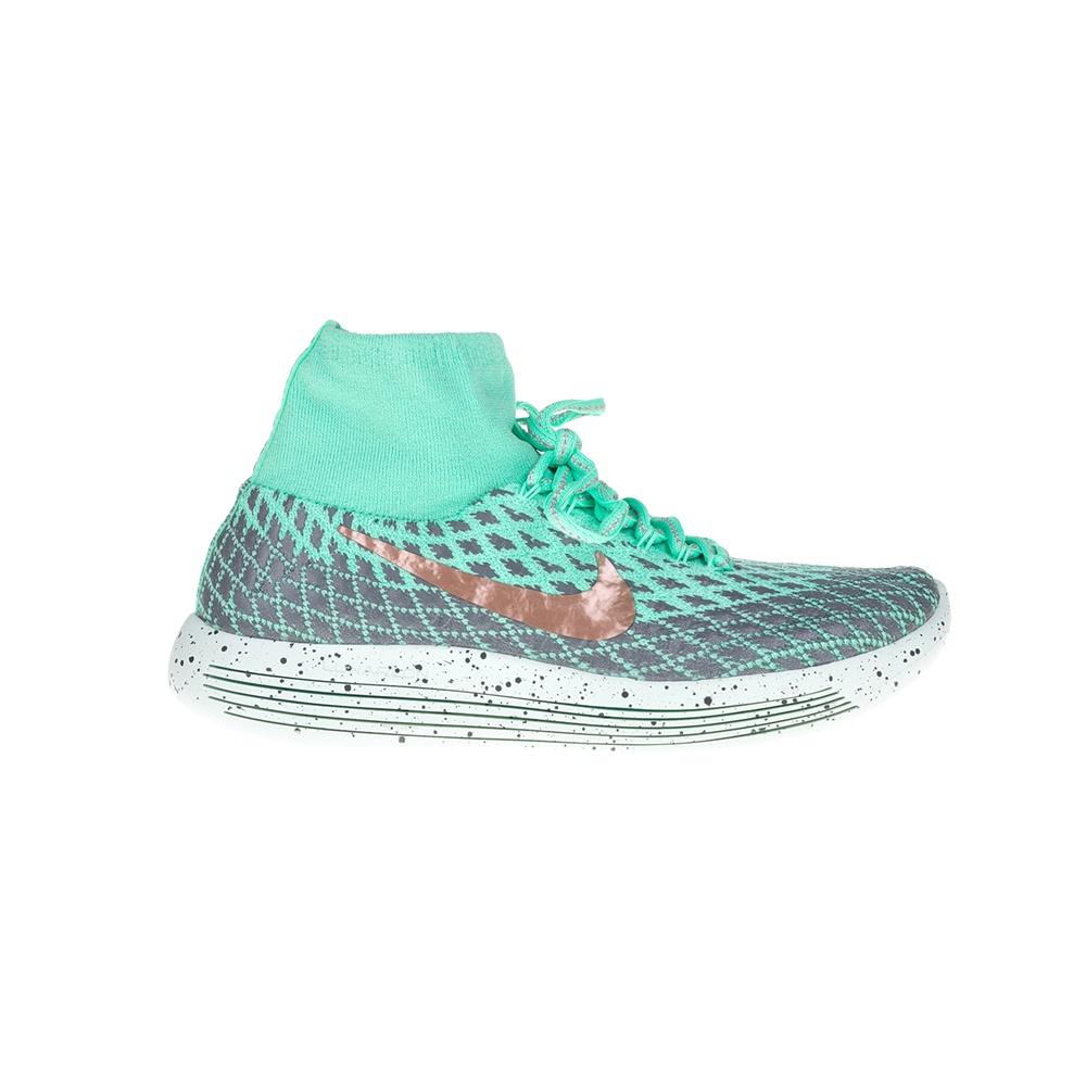 NIKE – Γυναικεία παπούτσια NIKE LUNAREPIC FLYKNIT SHIELD πράσινα