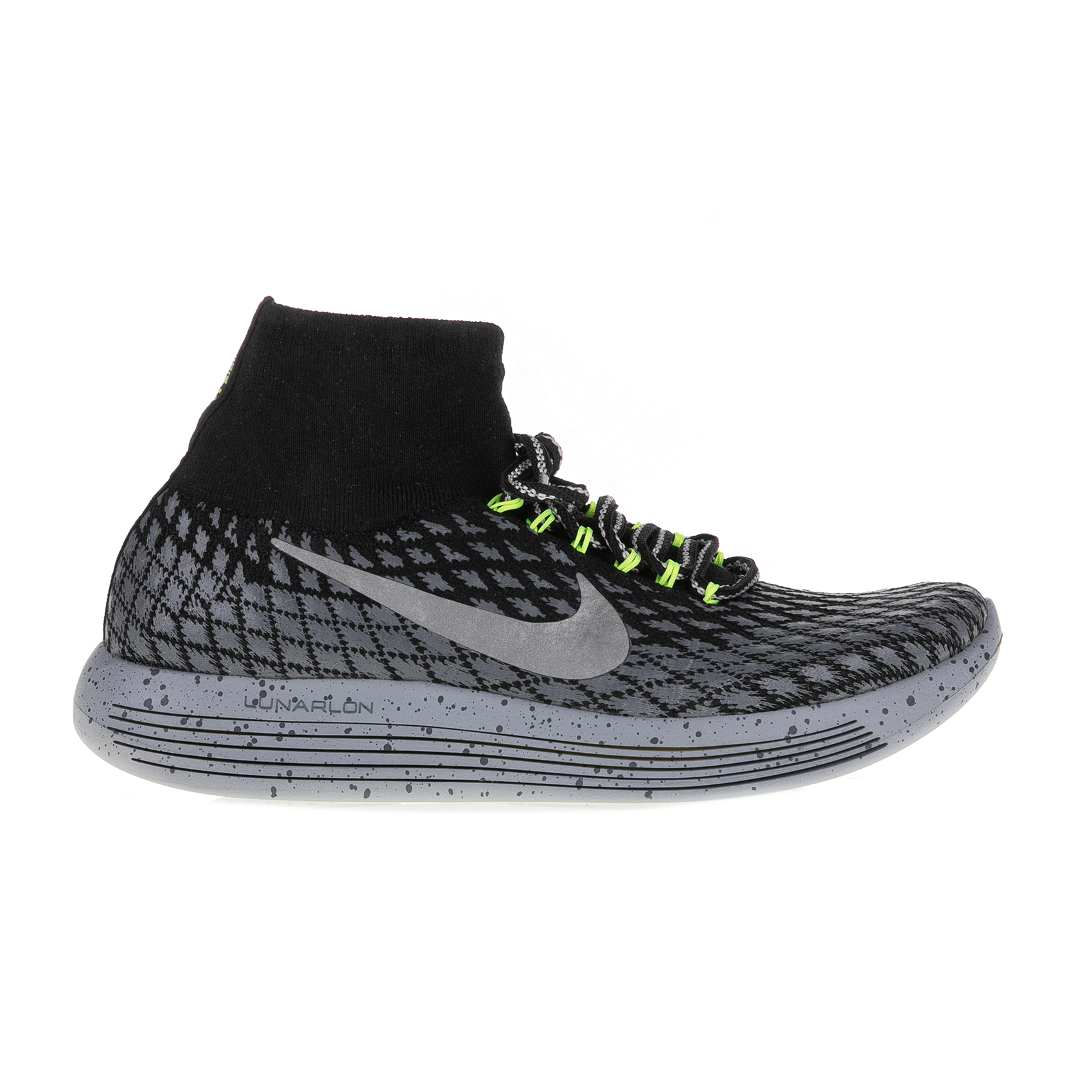 NIKE – Γυναικεία αθλητικά παπούτσια Nike LUNAREPIC FLYKNIT SHIELD γκρι