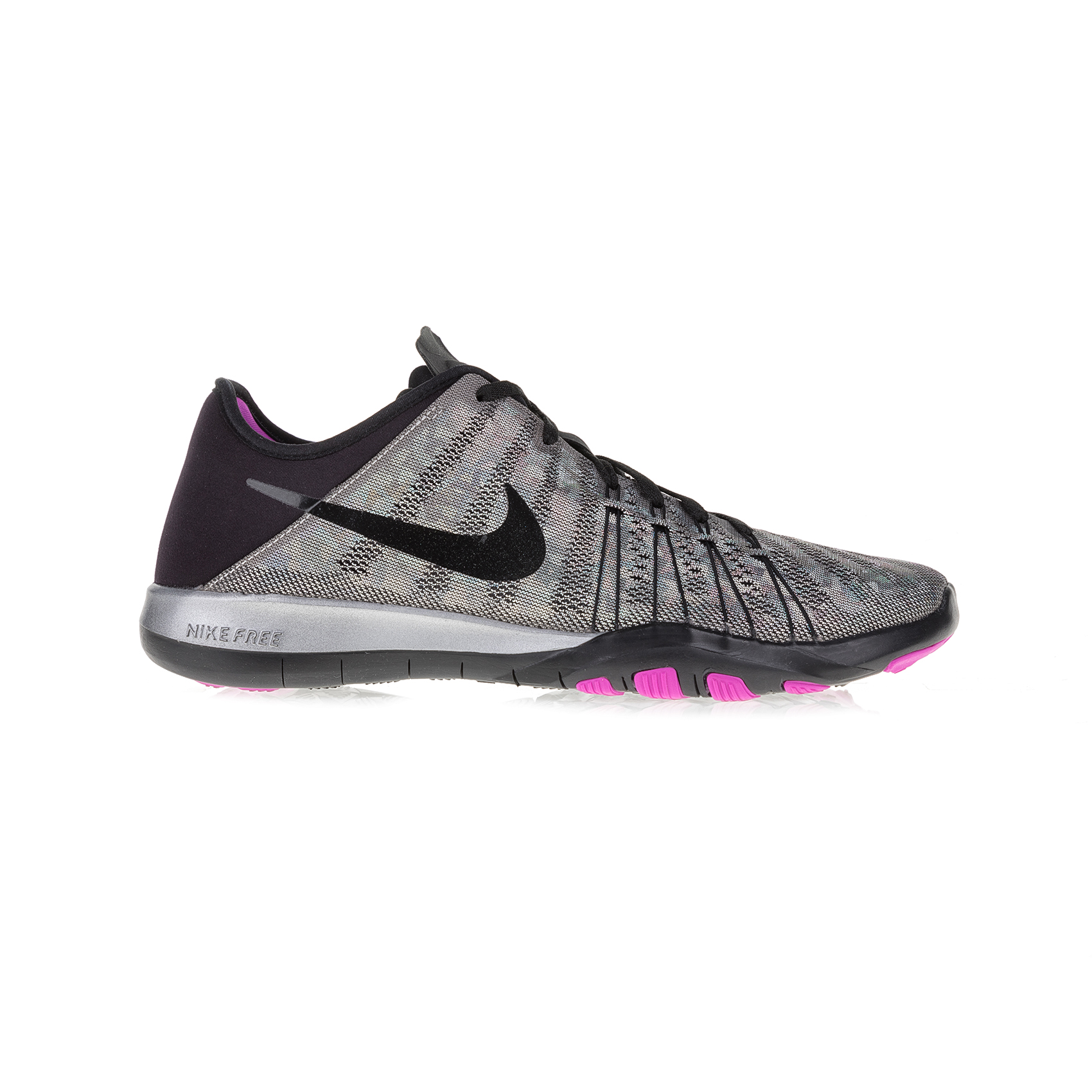 NIKE - Γυναικεία αθλητικά παπούτσια NIKE FREE TR 6 MTLC γκρι-μοβ