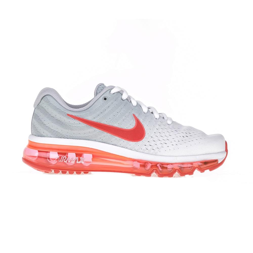 NIKE – Παιδικά αθλητικά παπούτσια NIKE AIR MAX 2017 (GS) λευκά – πορτοκαλί