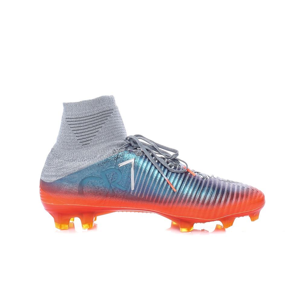 NIKE – Ανδρικά παπούτσια ποδοσφαίρου MERCURIAL SUPERFLY V CR7 FG γκρι – μπλε
