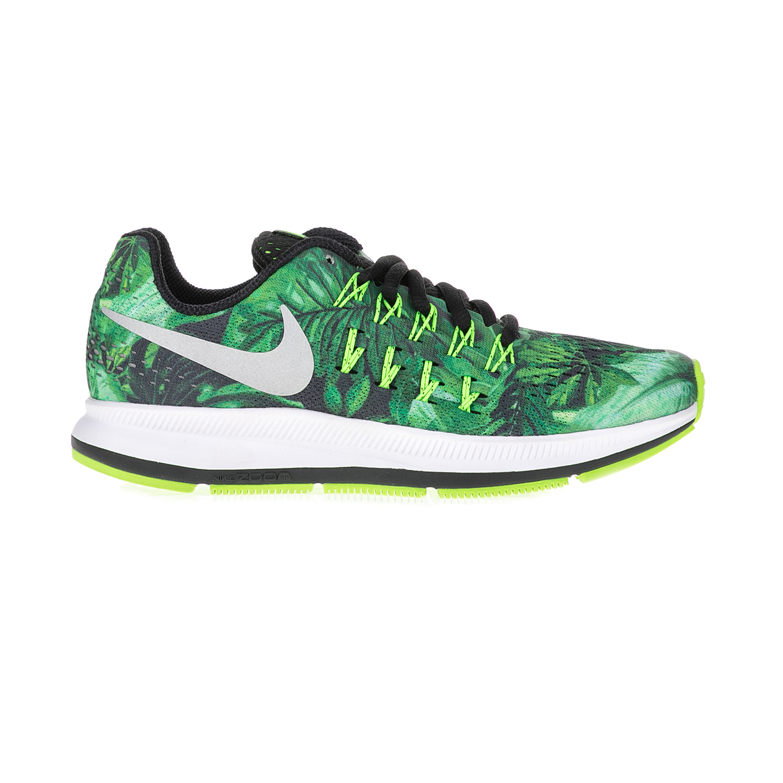 NIKE – Παιδικά αθλητικά παπούτσια NIKE ZOOM PEGASUS 33 PRINT (GS) πράσινα