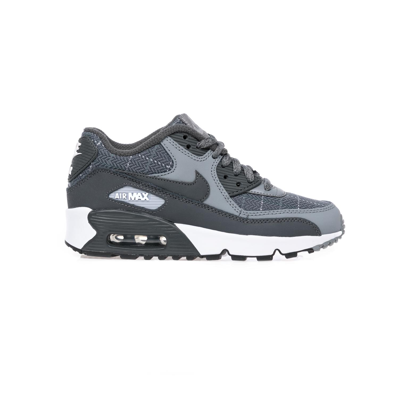 44e240729aa NIKE - Παιδικά αθλητικά παπούτσια NIKE AIR MAX 90 SE LTR (GS) γκρι ...