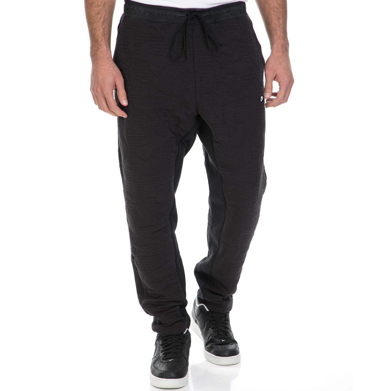 NIKE - Ανδρική φόρμα ΝΙΚΕ NSW MODERN PANT CF BB μαύρη ανδρικά ρούχα αθλητικά φόρμες