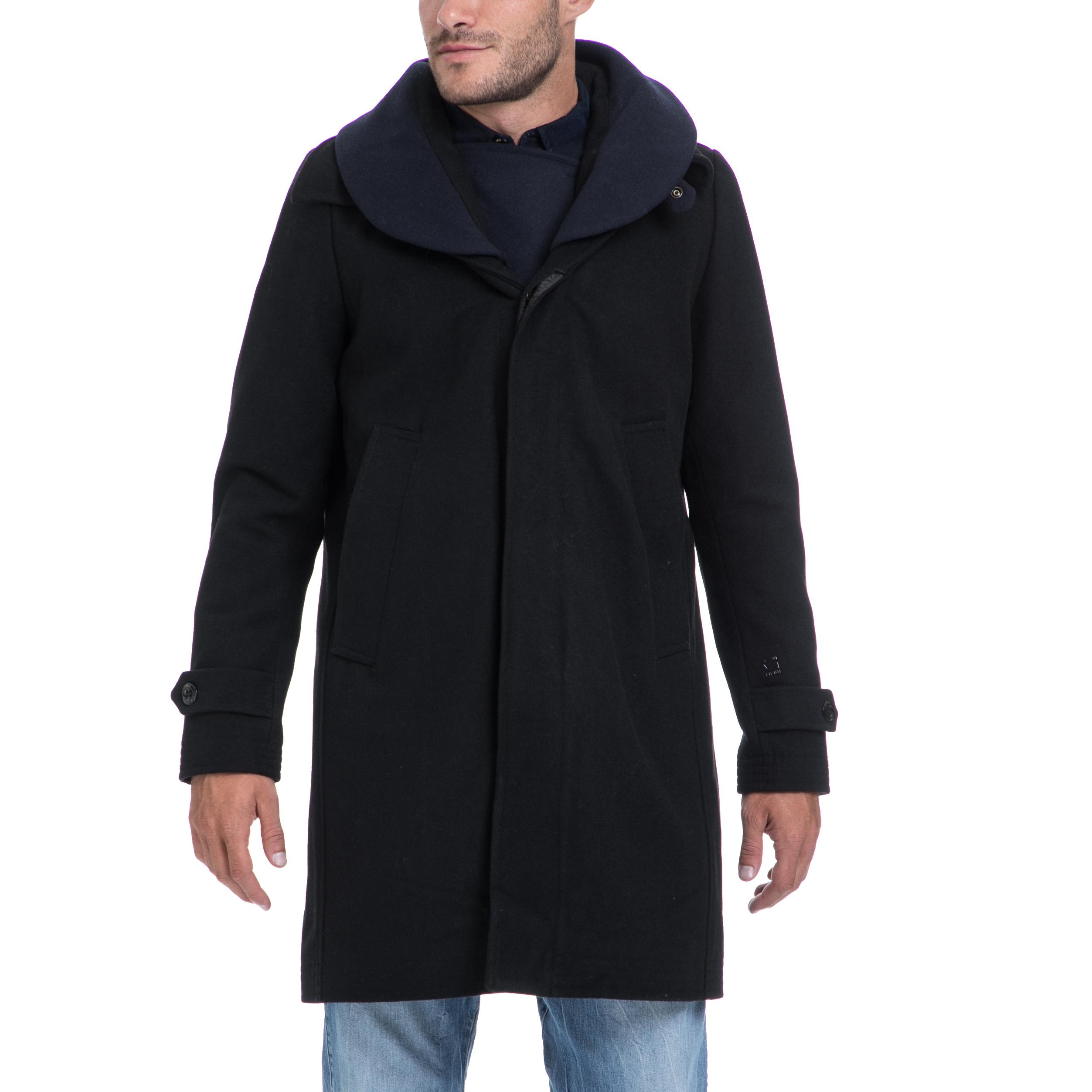 G-STAR RAW – Αντρικό παλτό G-STAR RAW μαύρο