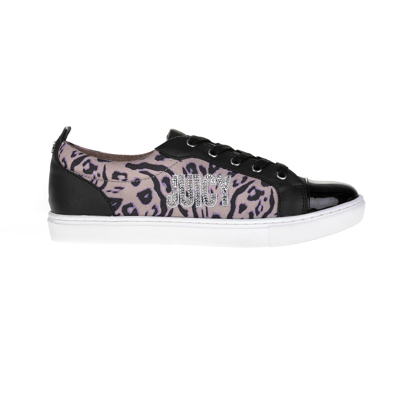 JUICY COUTURE – Γυναικεία παπούτσια JUICY COUTURE μαύρα-ροζ