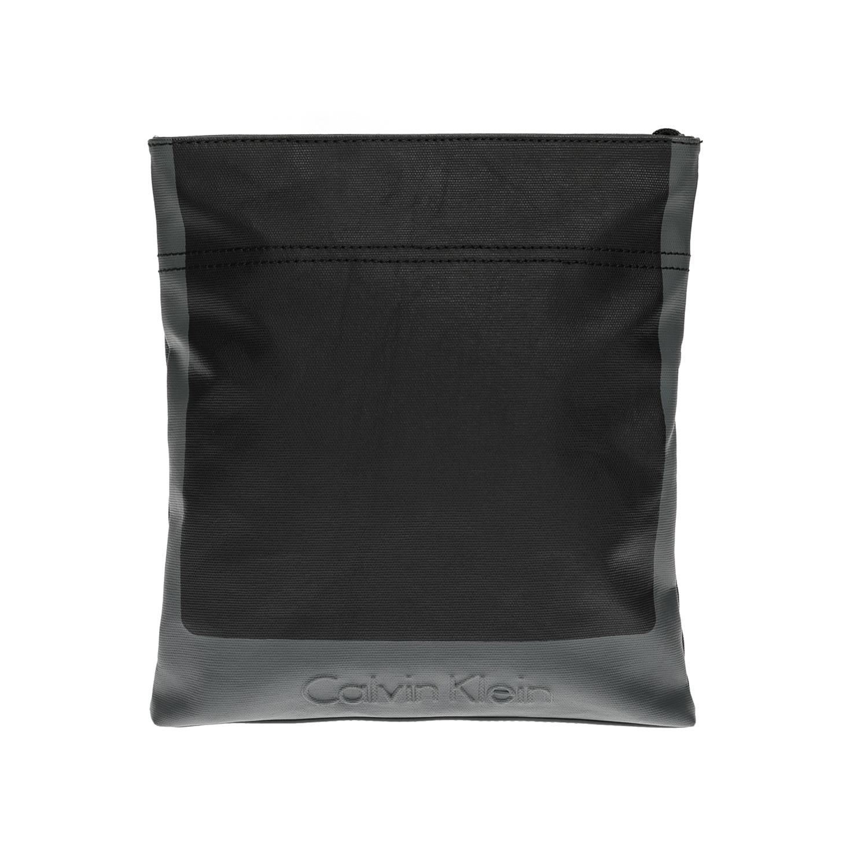 CALVIN KLEIN JEANS – Αντρική τσάντα CALVIN KLEIN JEANS μαύρη