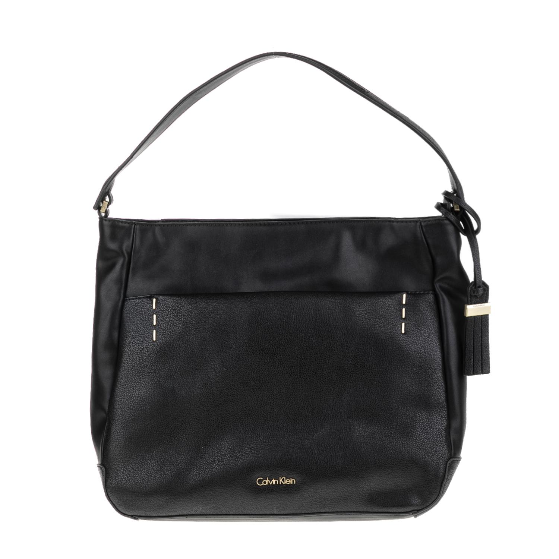 CALVIN KLEIN JEANS – Γυναικεία τσάντα LILY HOBO μαύρη 1502875.0-0071