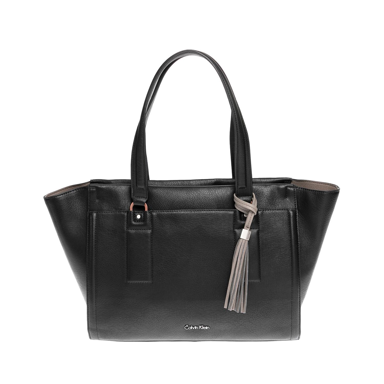 CALVIN KLEIN JEANS – Γυναικεία τσάντα CALVIN KLEIN JEANS μαύρη-γκρι 1502880.0-71E2