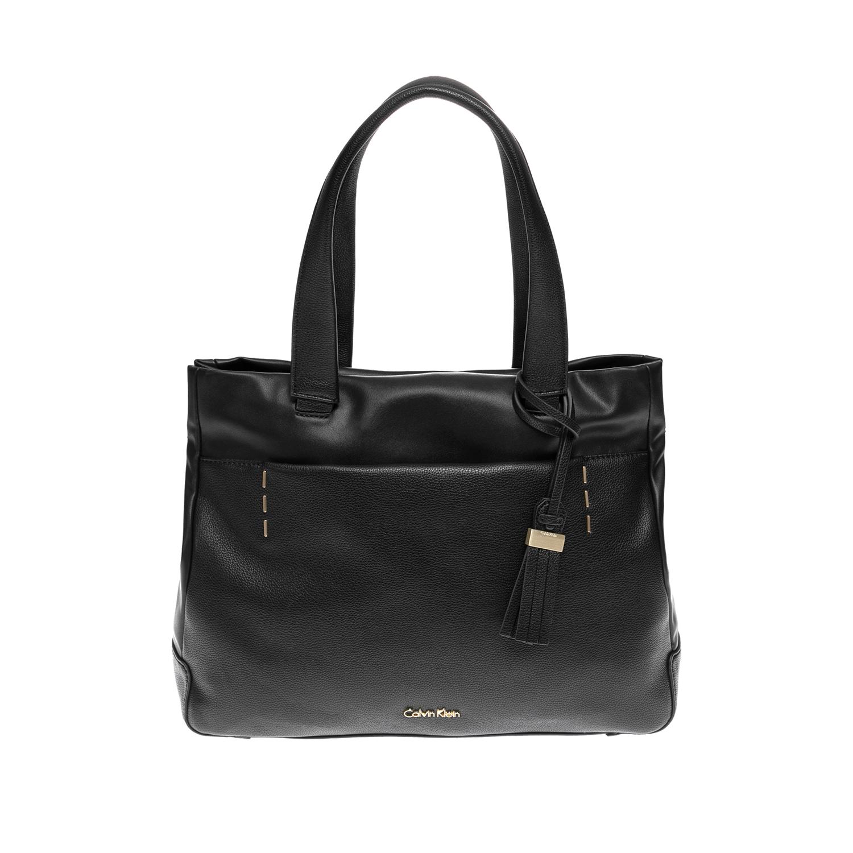CALVIN KLEIN JEANS – Γυναικεία τσάντα CALVIN KLEIN JEANS μαύρη 1502883.0-0071
