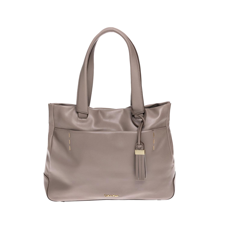 CALVIN KLEIN JEANS – Γυναικεία τσάντα CALVIN KLEIN JEANS μπεζ 1502883.0-00M3