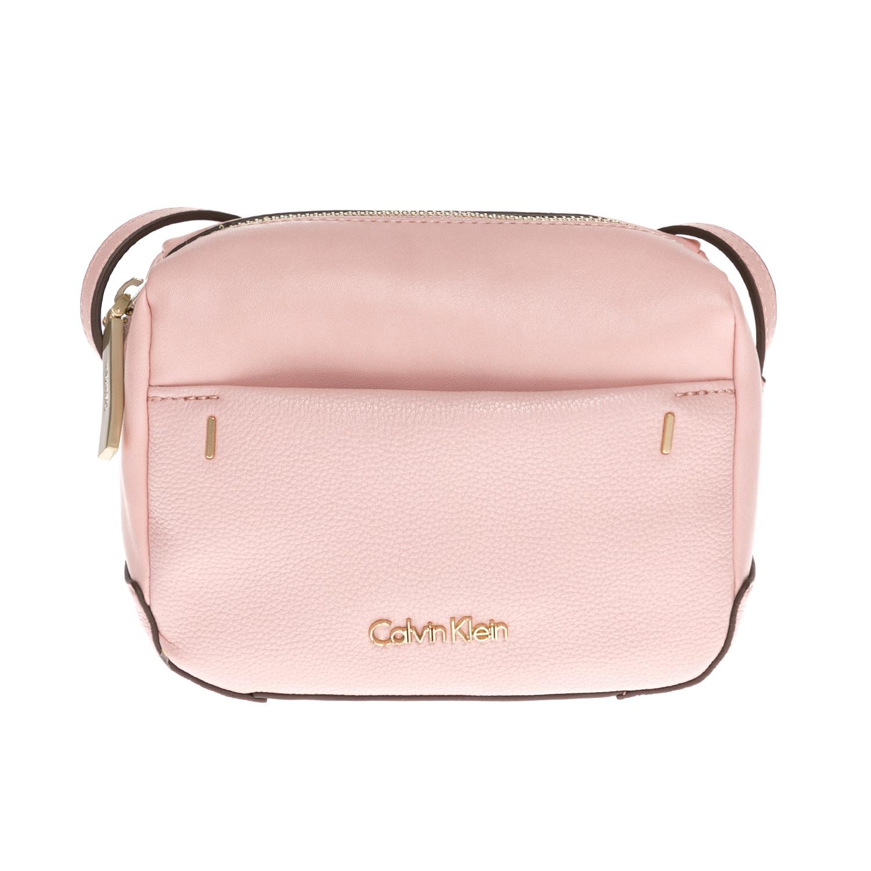 CALVIN KLEIN JEANS – Γυναικεία τσάντα CALVIN KLEIN JEANS ροζ