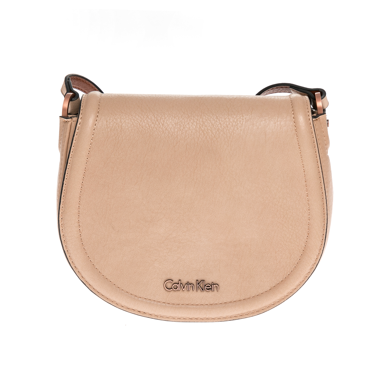 CALVIN KLEIN JEANS – Γυναικεία τσάντα CALVIN KLEIN JEANS μπεζ 1502891.0-00K0