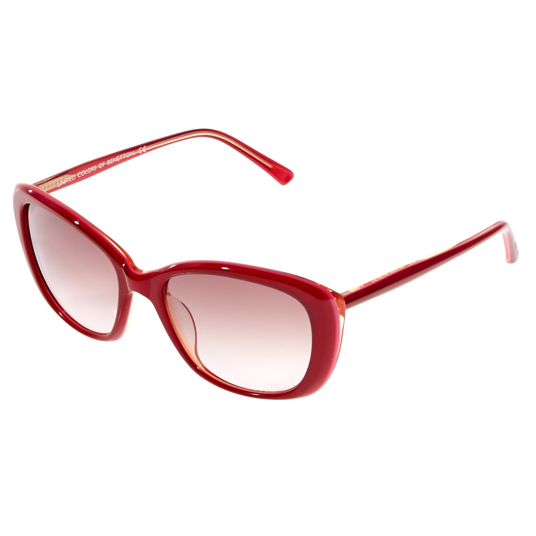 BENETTON - Γυναικεία γυαλιά ηλίου BE95502 κόκκινα γυναικεία αξεσουάρ γυαλιά ηλίου