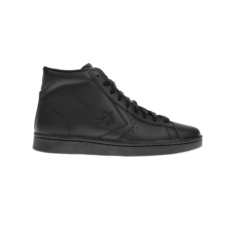 CONVERSE – Unisex μποτάκια QS Pro Leather Hi μαύρα
