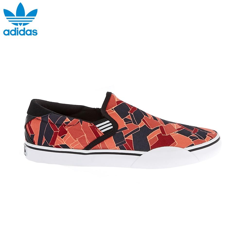 adidas – Ανδρικά παπούτσια adidas GONZ SLIP μπορντώ-μαύρα