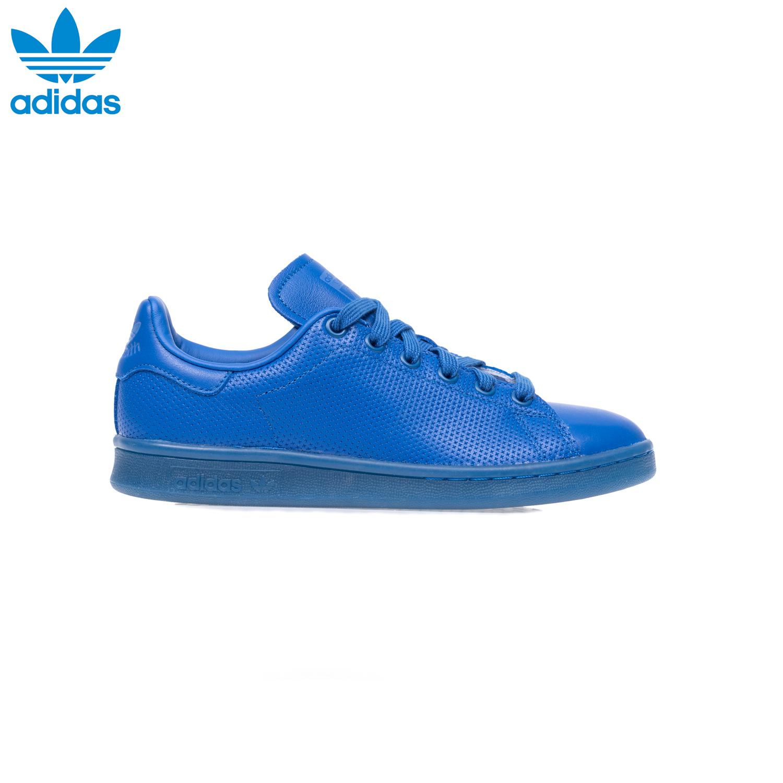 adidas - Unisex παπούτσια adidas STAN SMITH ADICOLOR μπλε γυναικεία παπούτσια sneakers