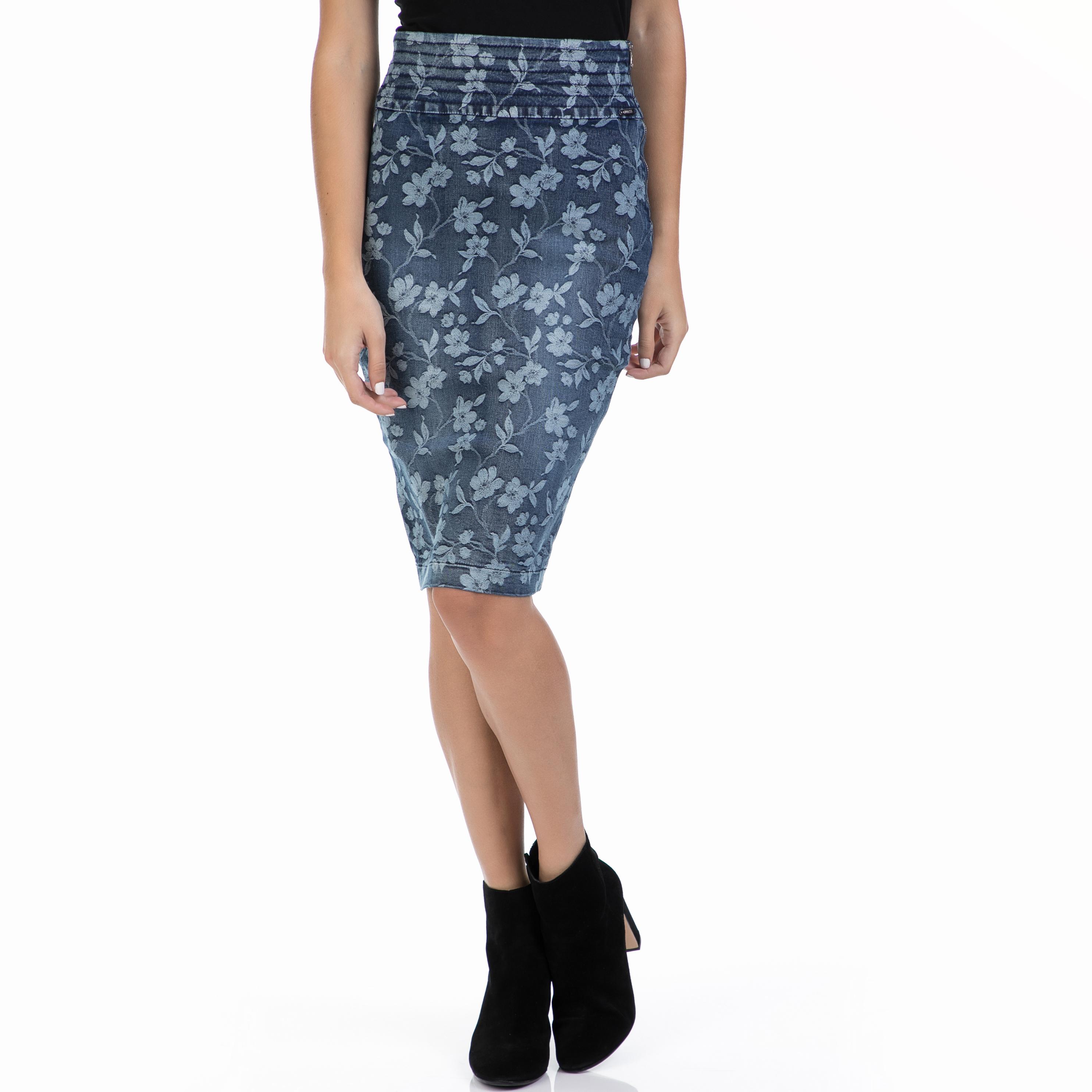 GUESS – Γυναικεία φούστα GUESS μπλε