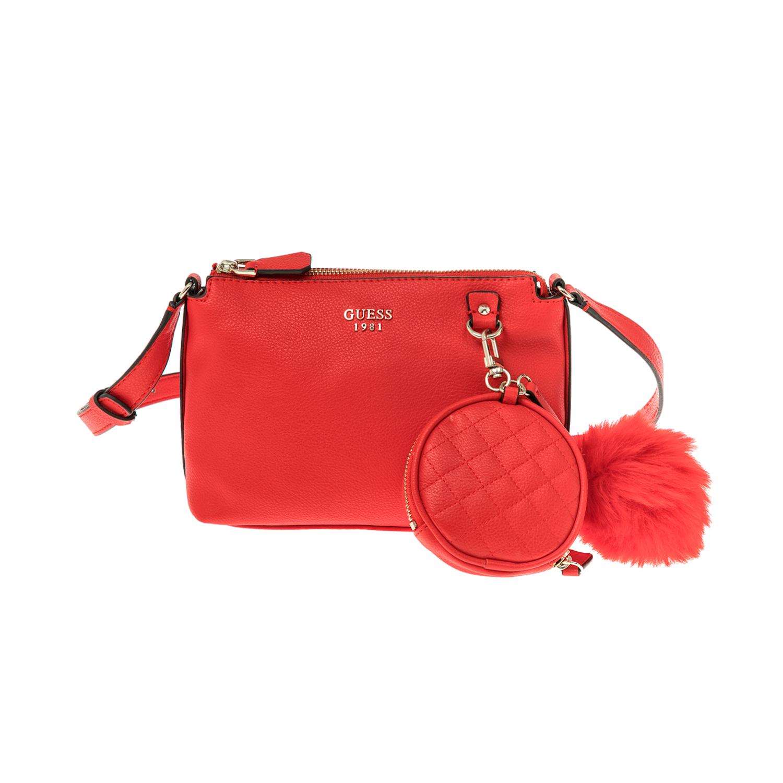 GUESS – Γυναικεία τσάντα GUESS κόκκινη 1508404.0-0045