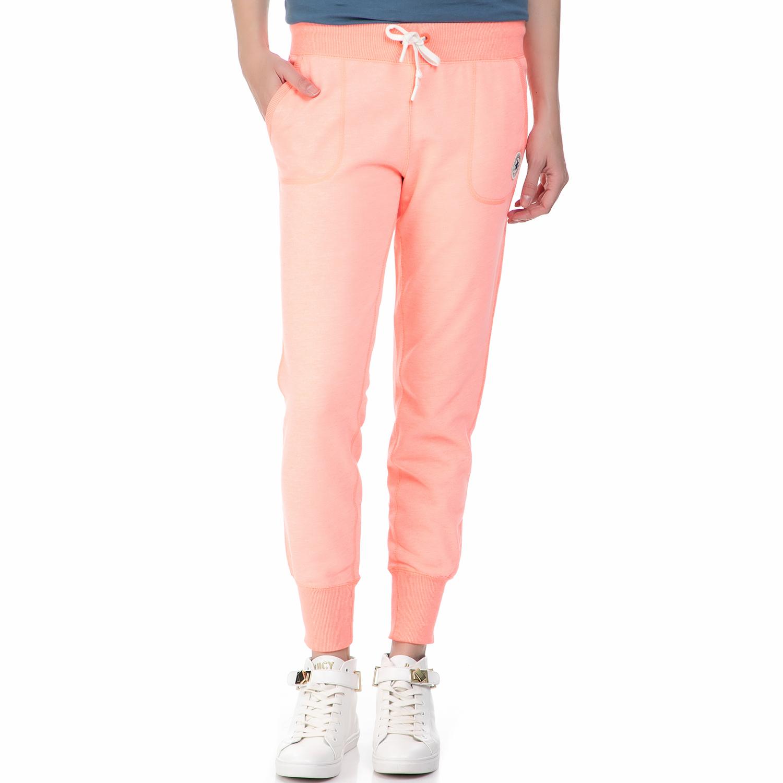 69930c3461 CONVERSE - Γυναικείο παντελόνι φόρμας Converse ροζ