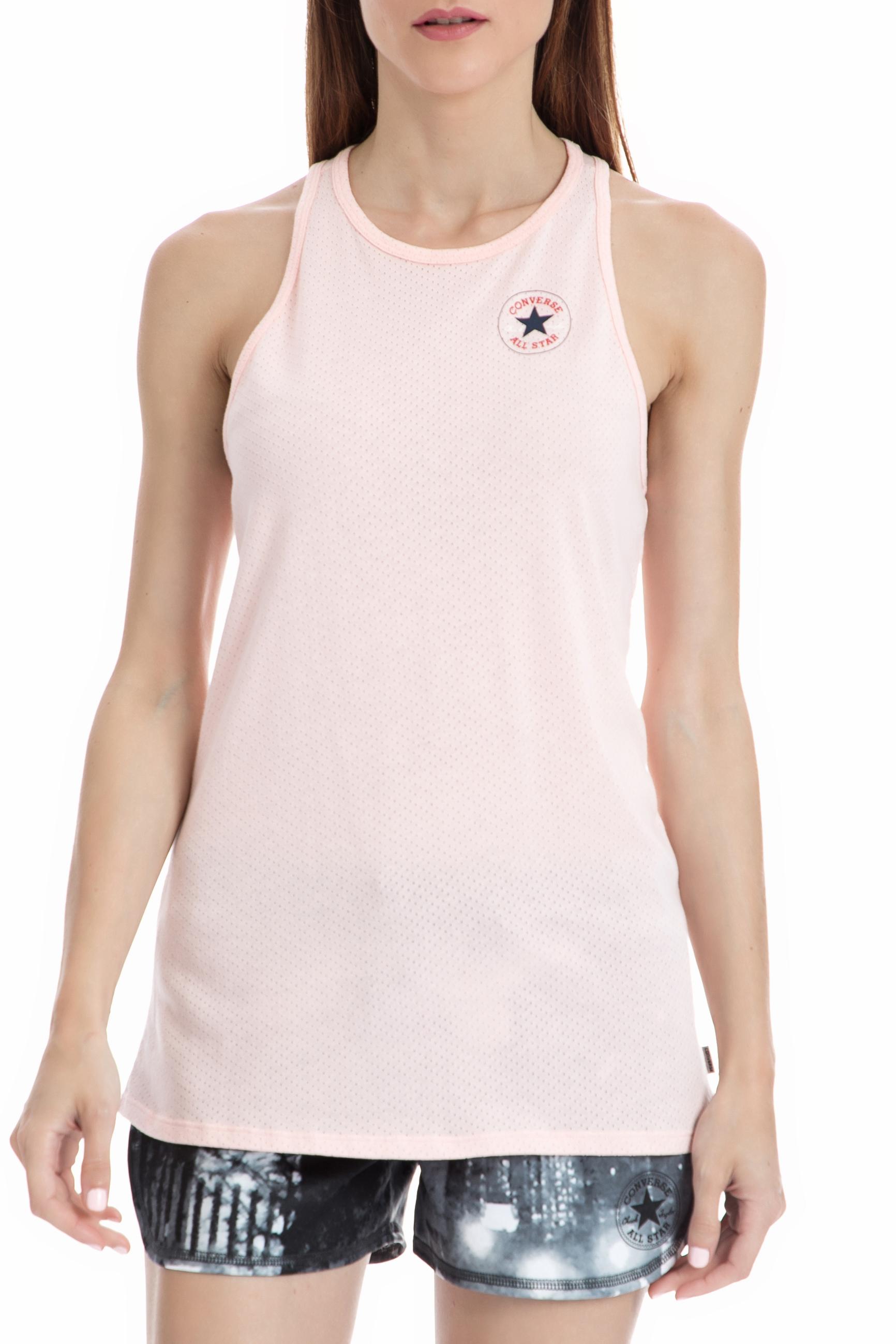 CONVERSE – Γυναικεία μπλούζα Converse ροζ