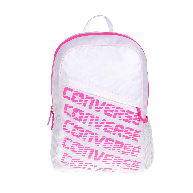 CONVERSE – Τσάντα πλάτης Speed Wordmark λευκή