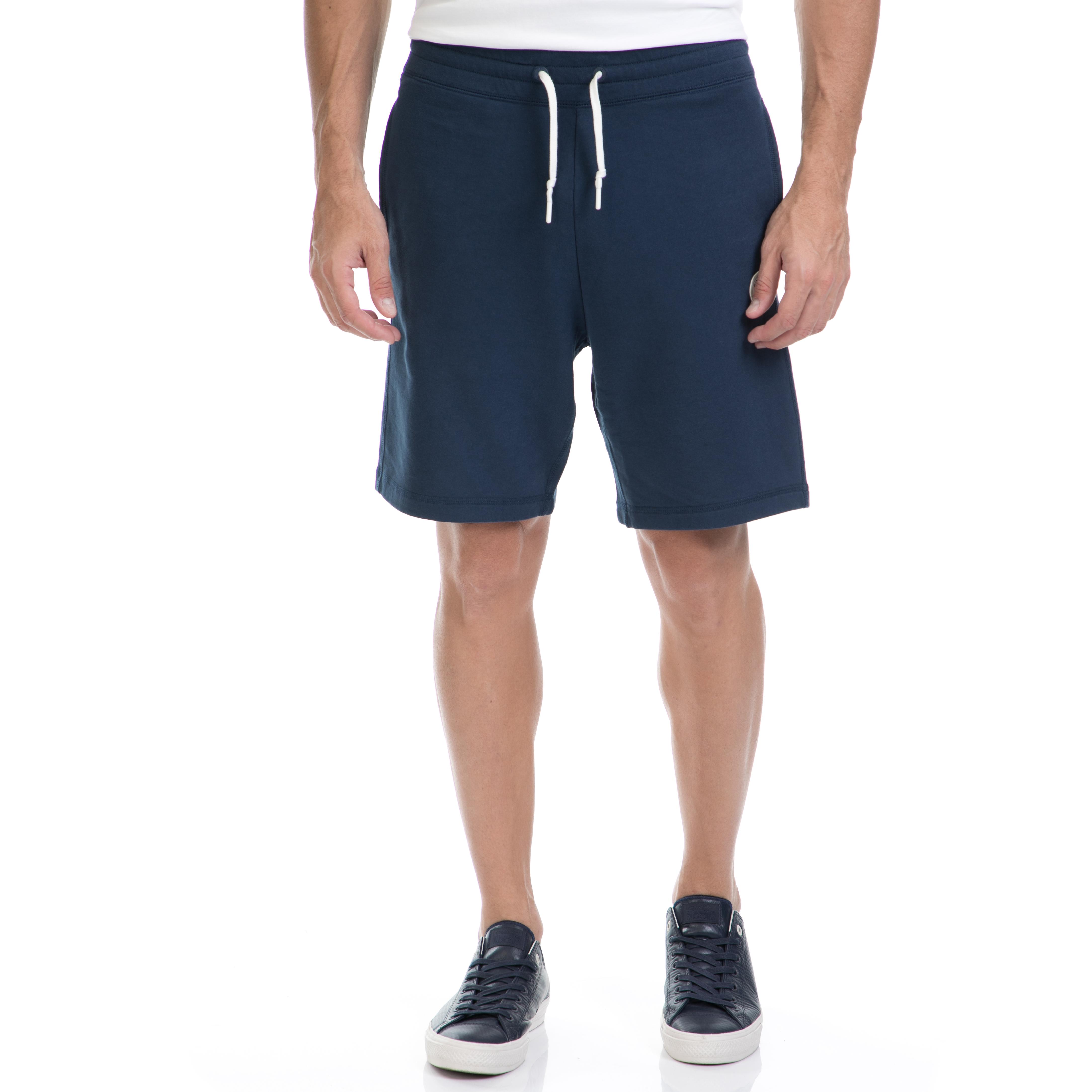 CONVERSE - Αντρική βερμούδα CONVERSE μπλε ανδρικά ρούχα σορτς βερμούδες αθλητικά