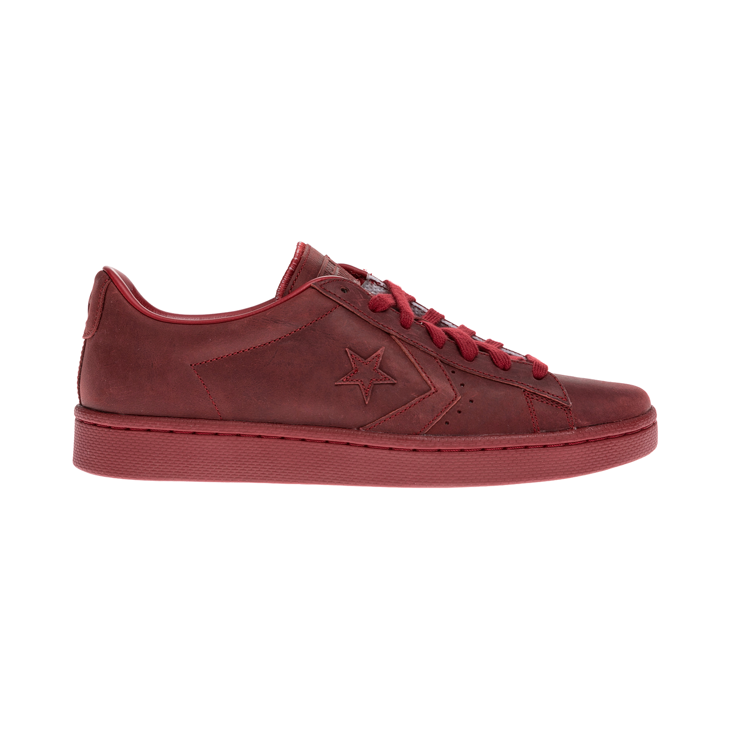 CONVERSE – Unisex παπούτσια QS PRO LEATHER MONO OX κόκκινα