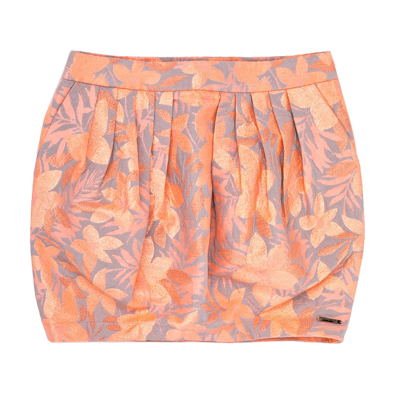 GUESS KIDS - Παιδική φούστα μπαλούν Guess Kids πορτοκαλί παιδικά girls ρούχα φούστες