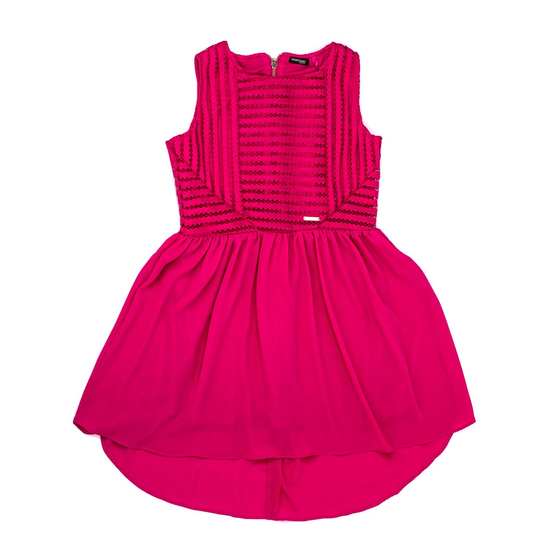 GUESS KIDS - Παιδικό αμάνικο φόρεμα Guess Kids φούξια 926942ab2fd