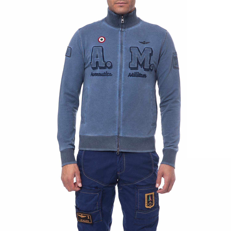 AERONAUTICA MILITARE - Ανδρική ζακέτα Aeronautica Militare ανδρικά ρούχα πλεκτά ζακέτες ζακέτες