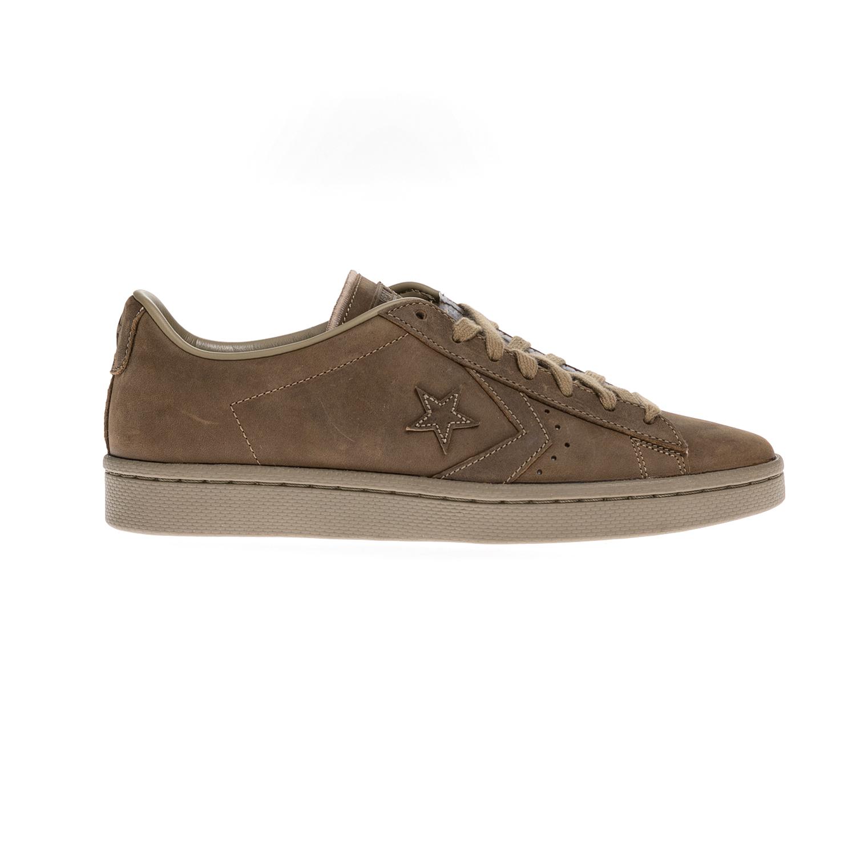 CONVERSE – Unisex παπούτσια QS PRO LEATHER MONO OX καφέ