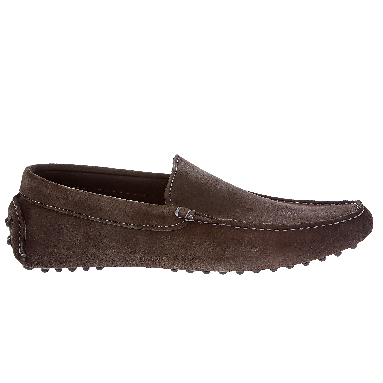 PASTORET – Ανδρικά παπούτσια Pastoret καφέ-γκρι