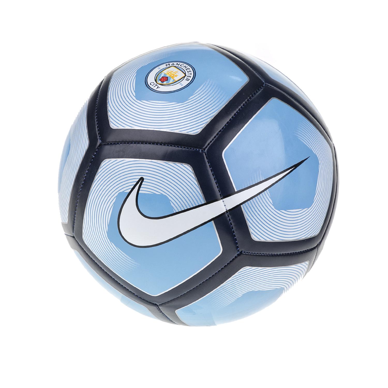 NIKE - Μπάλα ποδοσφαίρου NΙKΕ MANCITY SPRTS μπλε-λευκή γυναικεία αξεσουάρ αθλητικά είδη μπάλες