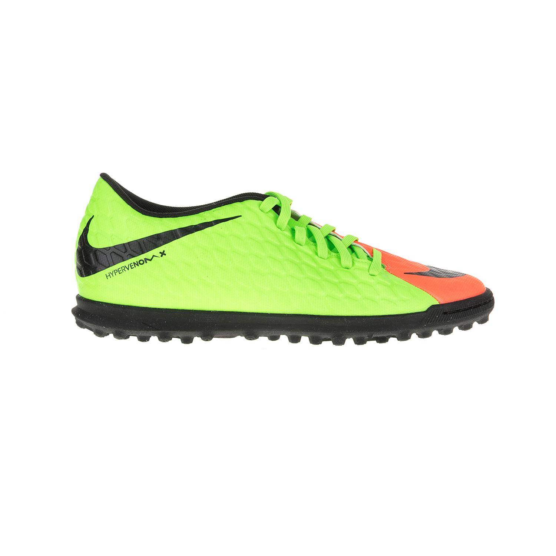 NIKE – Ανδρικά παπούτσια ποδοσφαίρου HYPERVENOMX PHADE III TF κίτρινα-πορτοκαλί