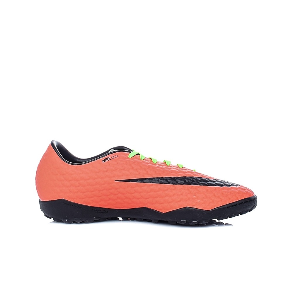 NIKE – Ανδρικά παπούτσια ποδοσφαίρου Nike HYPERVENOMX PHELON III TF κίτρινα – πορτοκαλί