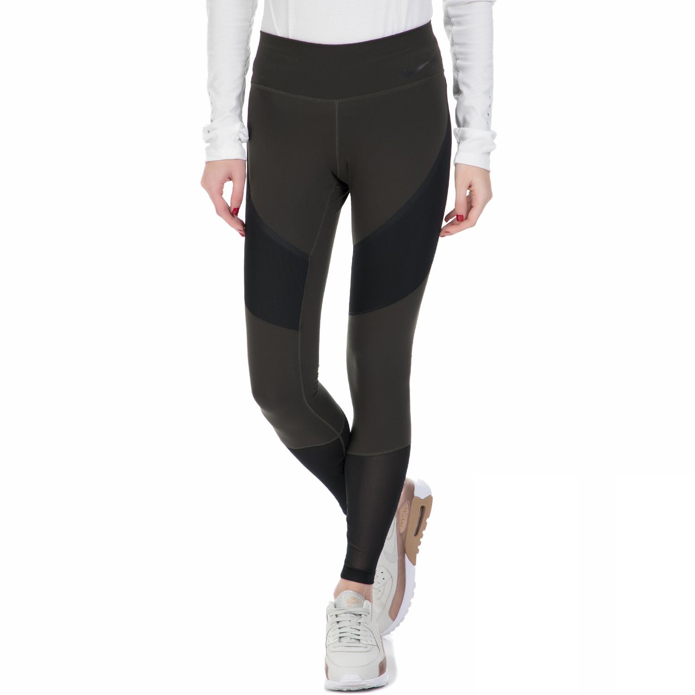 NIKE - Γυναικείο μακρύ κολάν Nike γκρι γυναικεία ρούχα αθλητικά κολάν