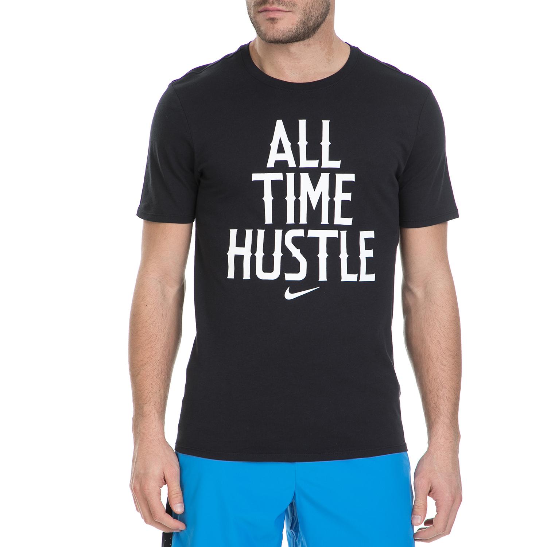 NIKE – Κοντομάνικη μπλούζα Nike μαύρη