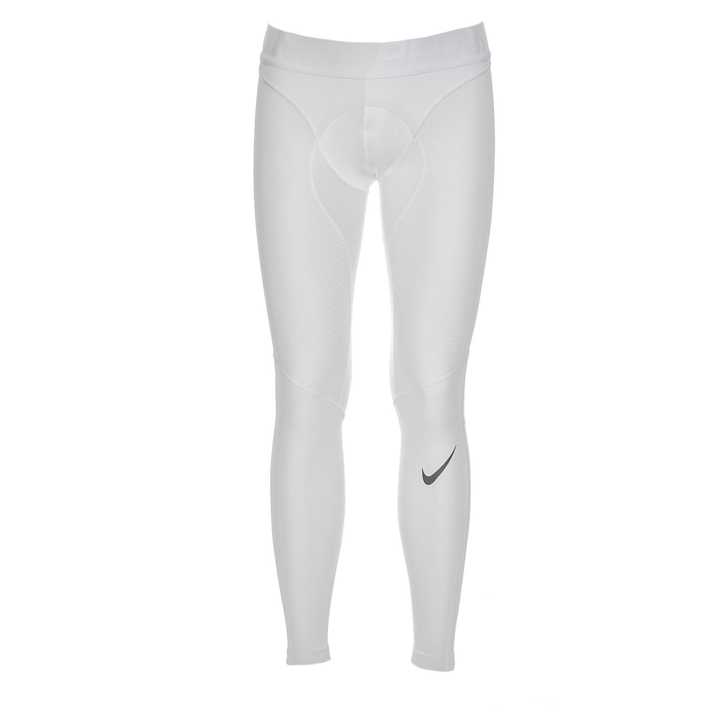 NIKE - Ανδρικό αθλητικό κολάν Nike λευκό ανδρικά ρούχα αθλητικά κολάν