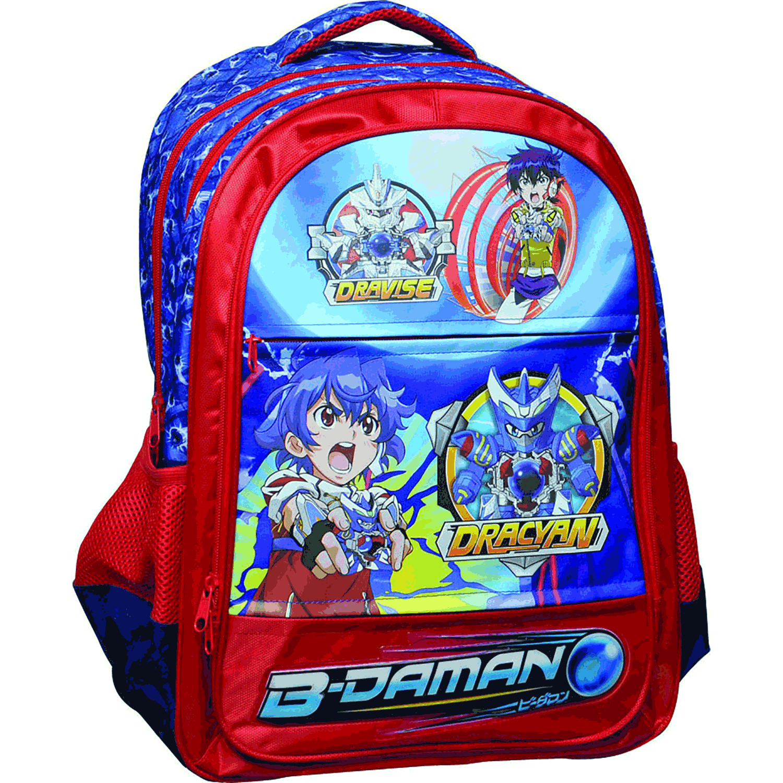 GIM – Παιδική τσάντα GIM μπλε-κόκκινη