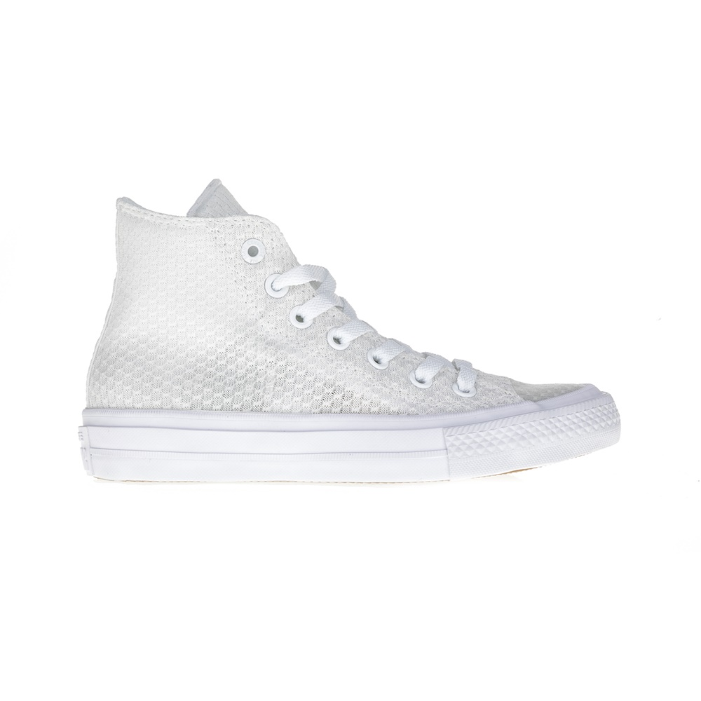 CONVERSE – Unisex μποτάκια Chuck Taylor All Star II Hi λευκά
