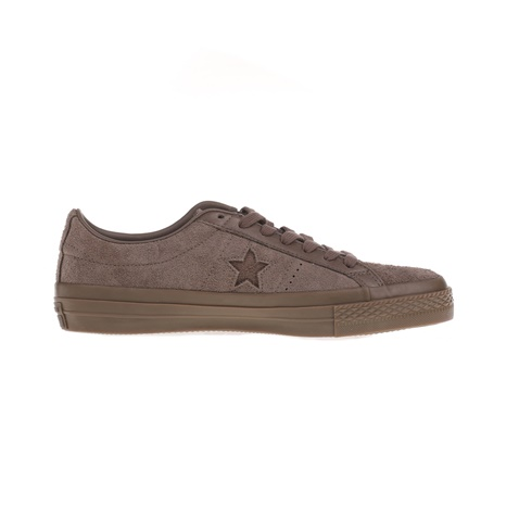 CONVERSE-Unisex sneakers CONVERSE One Star Ox καφέ