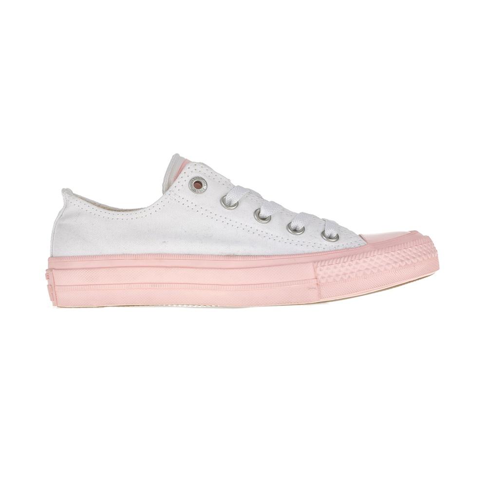 CONVERSE – Unisex παπούτσια Chuck Taylor All Star Ox λευκά-ροζ
