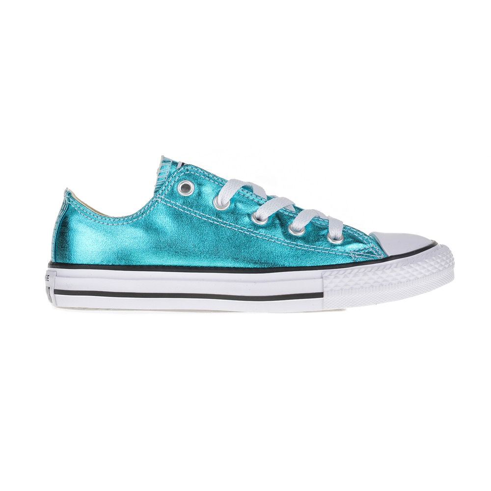 CONVERSE – Παιδικά sneakers Chuck Taylor All Star II Ox μεταλλικό μπλε
