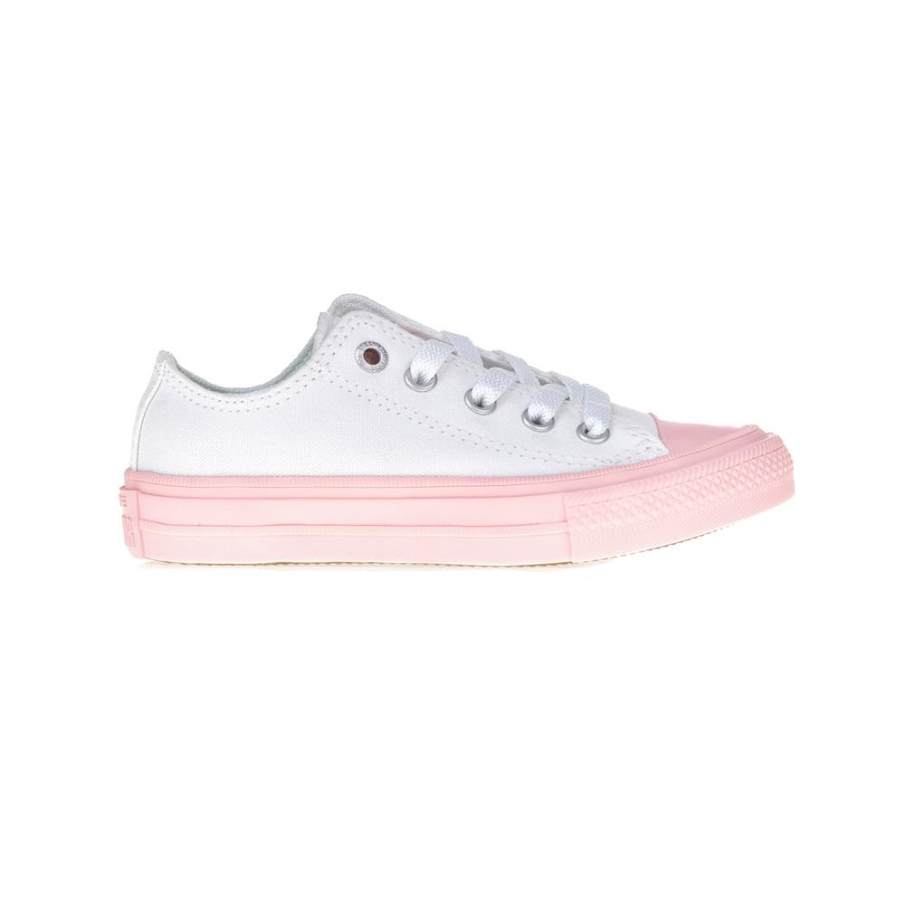 CONVERSE – Παιδικά παπούτσια Chuck Taylor All Star II Ox άσπρα-ροζ