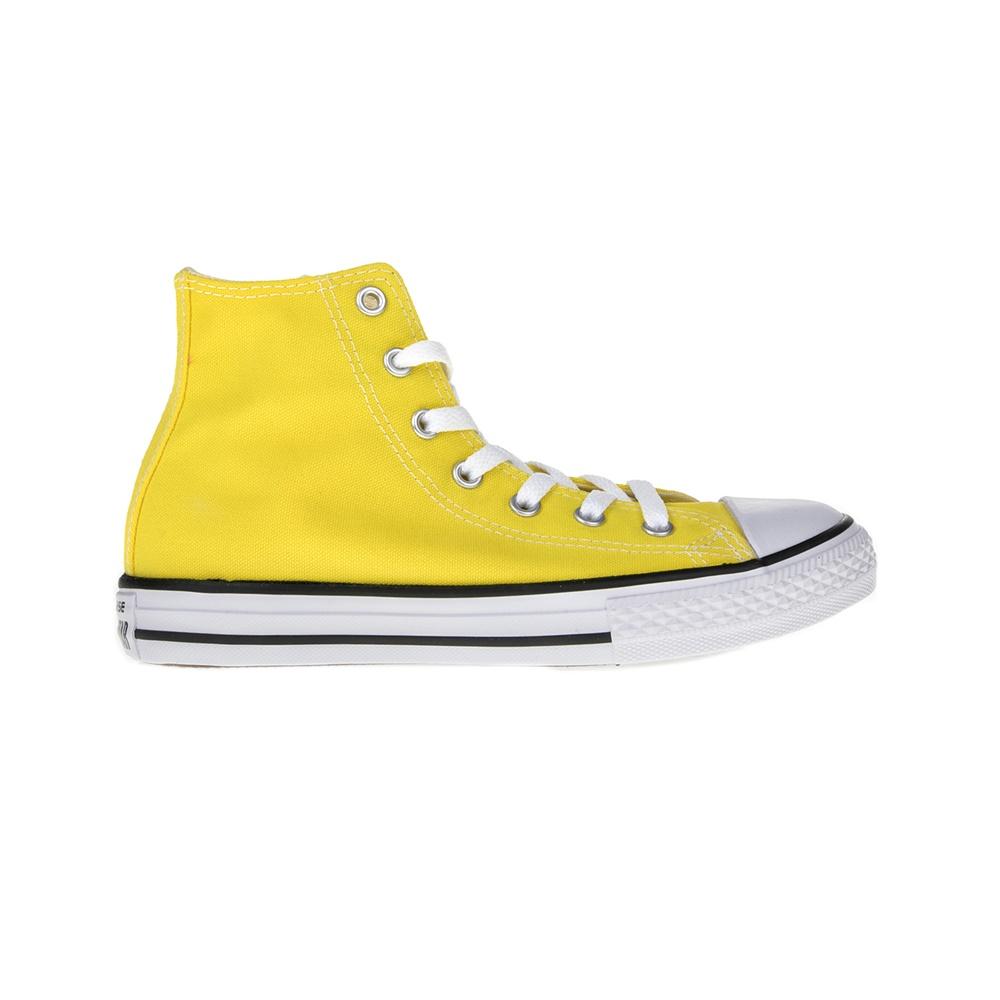 CONVERSE – Παιδικά μποτάκια Chuck Taylor All Star Hi κίτρινα